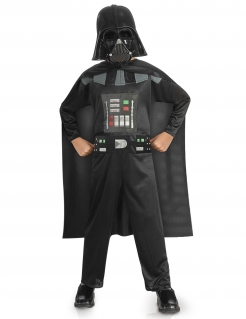 Darth Vader™-Kinderkostüm Star Wars™-Lizenzartikel schawrz