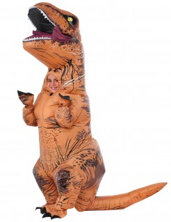 Jurassic World™ T-Rex Kinderkostüm Lizenzartikel braun
