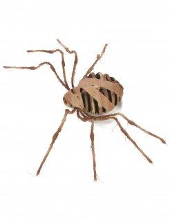 Mumien-Spinne Dekoration Halloween braun 75 cm
