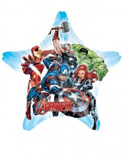 Sternförmiger Avengers™ Luftballon bunt 81 x 81 cm