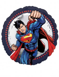 Superman™-Aluminiumballon bunt 43 cm