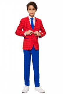 Mr. Spider-Man™ Opposuits™ Anzug für Teenager rot-blau