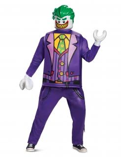 Joker™-Lego™-Kostüm Deluxe für Erwachsene bunt