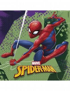 Spider-Man™ Servietten 20 Stück bunt 33 x 33 cm