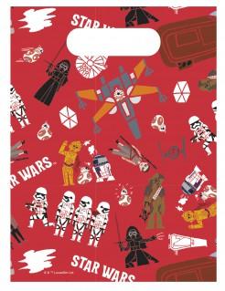 Star Wars™-Geschenkbeutel Lizenzartikel 6 Stueck bunt