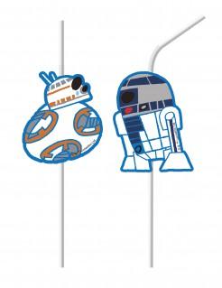 Star Wars Forces™ Strohhalme 6 Stück bunt