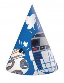 Star Wars™ Partyhüte-Set 6 Stück bunt