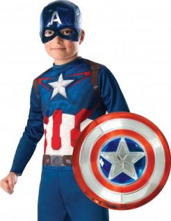 Captain America™-Accessoire-Set Halloweenkostüm blau-weiss-rot