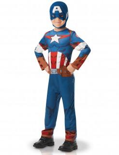 Captain America™-Kostüm für Jungen bunt
