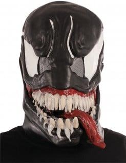 Venom™-Latexmaske Lizenzartikel schwarz-weiss-rot