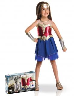 Wonder Woman™-Mädchenkostüm in Deluxe-Verpackung bunt