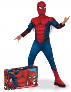 Spiderman™-Kostüm für Jungen Spiderman Homecoming™ Halloweenkostüm rot-blau
