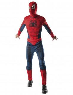 Spiderman™-Kostüm für Herren Halloweenkostüm rot-blau