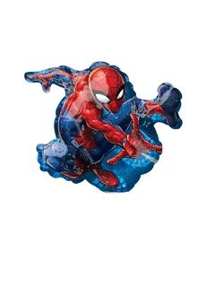 Spider-Man™-Luftballon blau-rot 17 x 25 cm