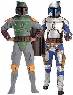 Star Wars™-Paarkostüm Django und Boba Fett Lizenzartikel bunt