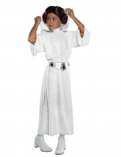 Prinzessin Leia™-Kinderkostüm Star Wars™ weiss