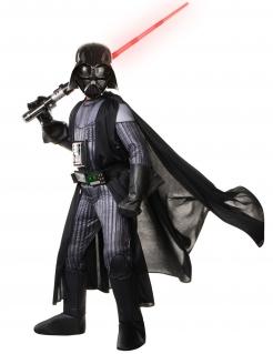 Darth Vader™-Lizenzkostüm Deluxe für Kinder schwarz