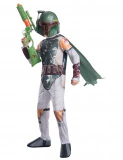 Boba Fett™-Kinderkostüm Star Wars™ weiss-grün-gold