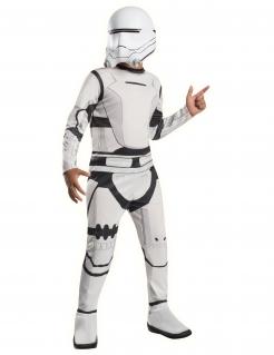 Flametrooper™-Kostüm für Kinder Star Wars™ weiss-schwarz