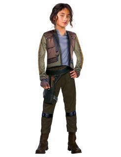 Jyn Erso™-Kinderkostüm Star Wars™ braun-grün-blau