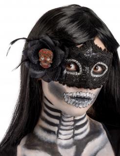 Tag der Toten Augenmaske für Damen bunt