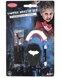 Vampir-Set Make-up 4-teilig