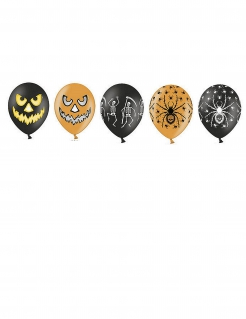 Luftballon-Set für Halloween 20 Stück bunt