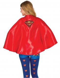 Supergirl™-Umhang für Damen rot-goldfarben
