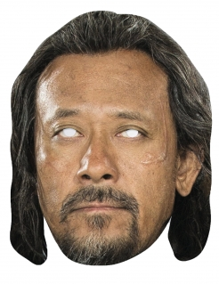 Baze Malbus-Maske Star Wars Rogue One™-Lizenzprodukt haut-braun