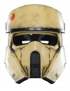 Shoretrooper Halbmaske beige-schwarz-rot