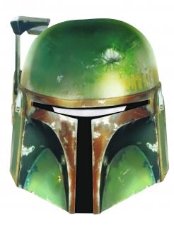 Boba Fett™-Maske für Erwachsene grün-gold