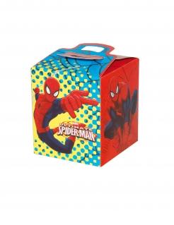 Spider-Man™ Geschenkboxen für Kinder 4 Stück bunt 9,5 x 9,5 x 11 cm