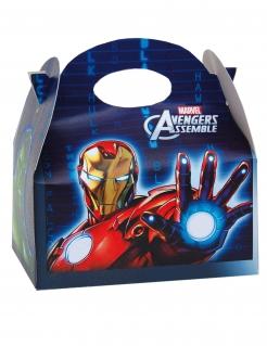 Avengers™-Geschenkbox Superhelden-Partydeko bunt 16x10,5x16cm