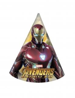 Avengers Infinity War™-Partyhüte 6 Stück bunt