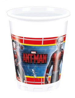 Ant-Man™-Trinkbecher Tischdeko Halloween 8 Stück bunt 200ml