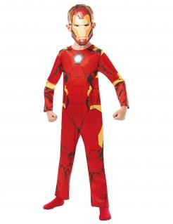 Iron Man™ Kinder-Lizenzkostüm rog-gelb-schwarz
