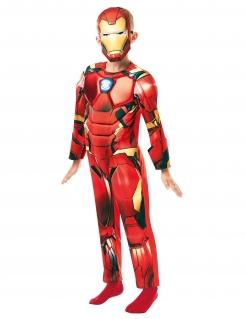 Iron Man™-Kostüm für Kinder Halloweenkostüm rot-gelb