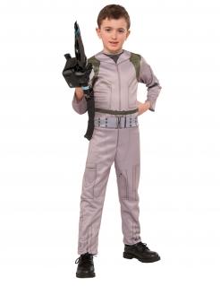 Ghostbusters™-Kostüm für Kinder mit Waffe beige-grün-schwarz