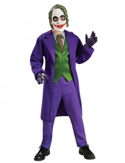 The Dark Knight Joker™-Kinderkostüm lila-grün