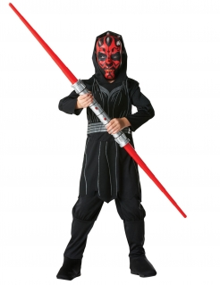 Darth Maul™-Kinderkostüm Star Wars™ rot-schwarz