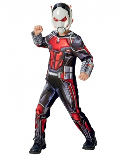 Ant-Man™-Kostüm für Jungen Halloweenkostüm schwarz-rot