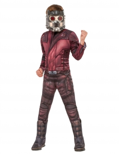 Star-Lord™Kinderkostüm aus Guardians of the Galaxy™ rot-braun