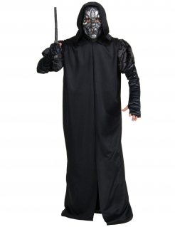 Todesser-Kostüm Harry Potter™ Halloween-Kostüm schwarz-silber