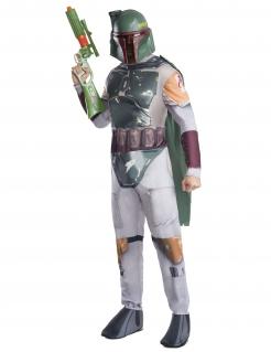 Boba Fett™-Kostüm Star Wars™ grau-grün
