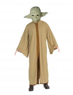 Meister Yoda™-Kostüm Star Wars™ Faschingskostüm braun-grün