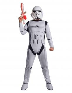 Stormtrooper™-Kostüm Star Wars™ weiss-schwarz