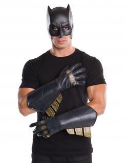 Batman™-Handschuhe für Herren Halloween-Accessoire schwarz-gold