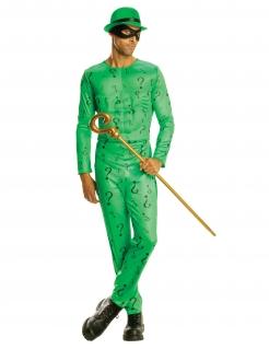 The Riddler™ Herrenkostüm grün-schwarz