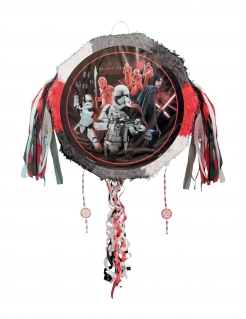 Star Wars The Last Jedi™-Pinata rot-grau-weiss 45 cm