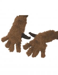 Rocket Racoon™-Handschuhe Avengers Infinty War™ braun